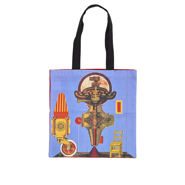 Metalization of a Dream by Eduardo Paolozzi reusable canvas tote bag