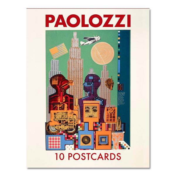 Eduardo Paolozzi postcard pack