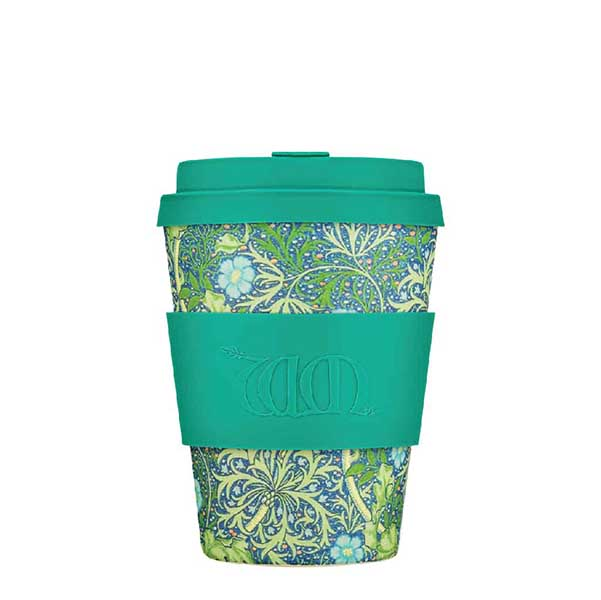 Seaweed Marine by William Morris reusable 350 ml   12oz cup