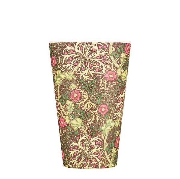 Seaweed by William Morris reusable 400 ml   14oz cup