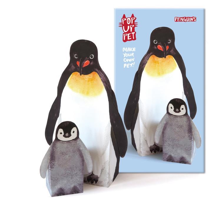 Penguins pop up pets