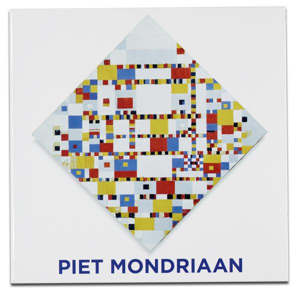 Piet Mondrian notecard wallet
