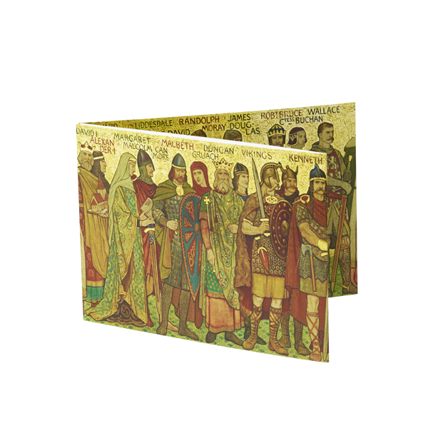 Processional Frieze (West Wall) Fold-out Card