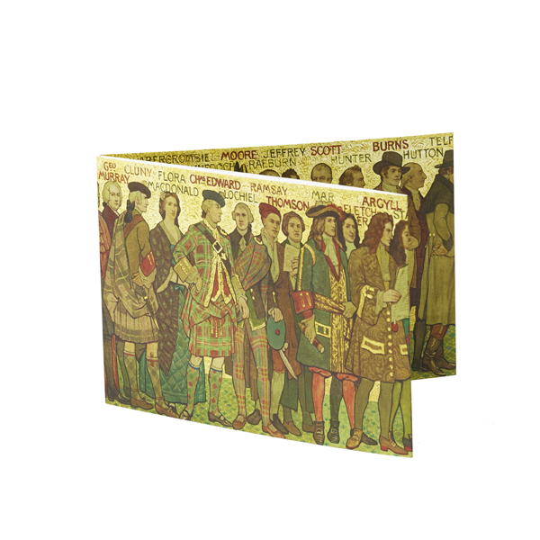 Processional Frieze (east wall) fold-out card