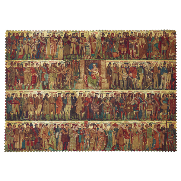 Processional Frieze by William Brassey Hole lens cloth