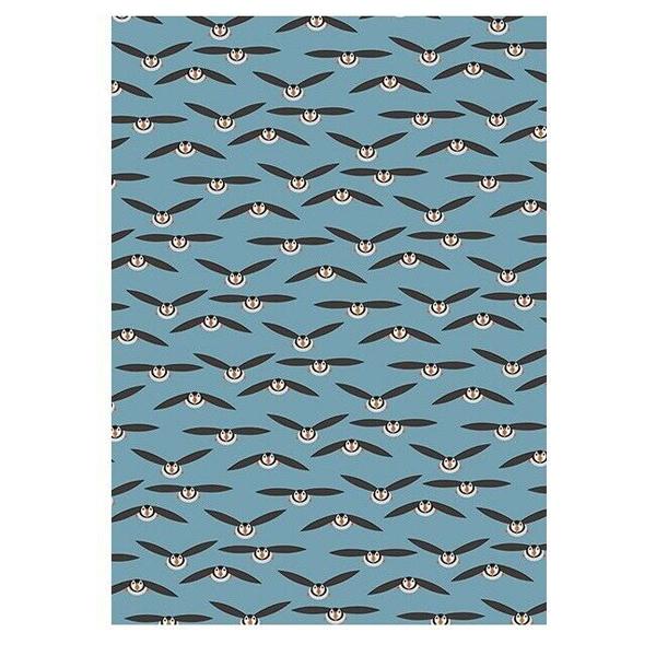 Puffin gift wrap (single sheet)