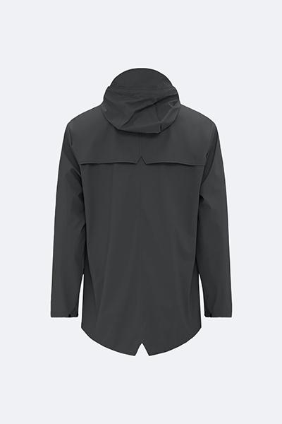 Waterproof black unisex jacket L/XL