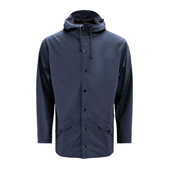 Waterproof blue unisex jacket L/XL