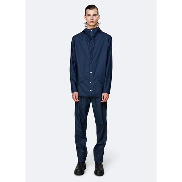 Waterproof blue unisex jacket S/M