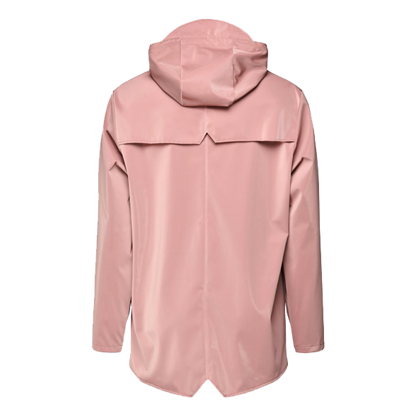 Waterproof coral pink unisex jacket XXS/XS
