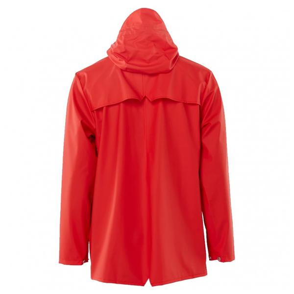 Waterproof red unisex jacket M/L