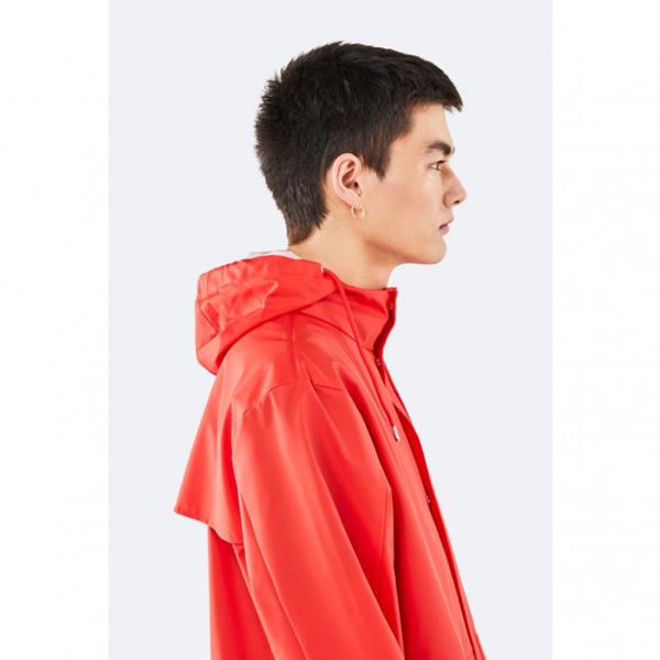 Waterproof red unisex jacket XXS/XS