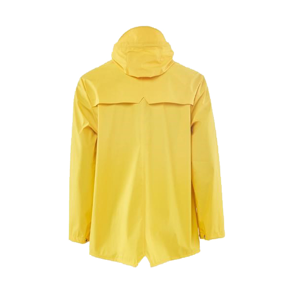 Waterproof yellow unisex jacket M/L