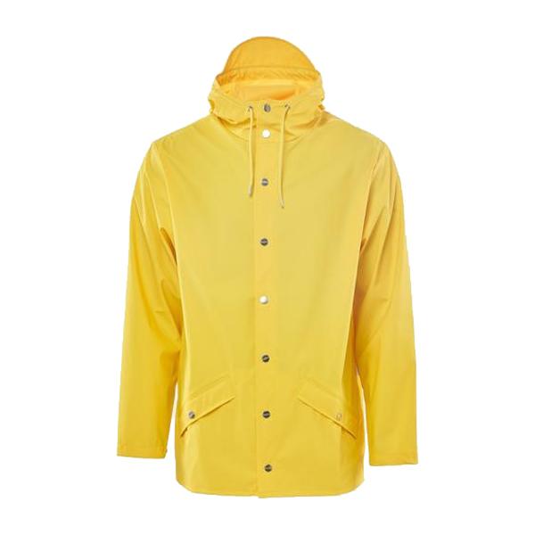 Waterproof yellow unisex jacket XXS/XS