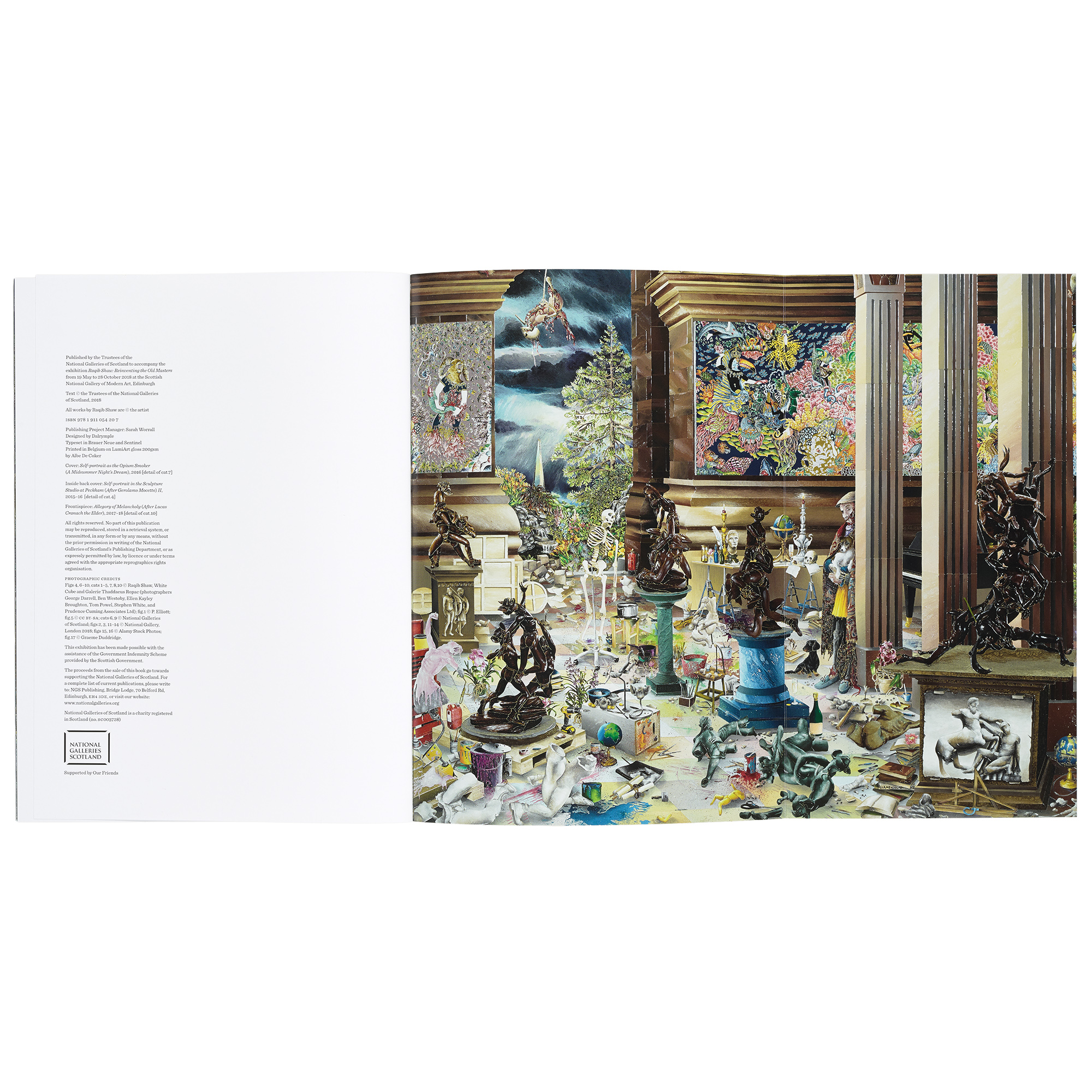 Raqib Shaw | Reinventing the Old Masters exhibition book
