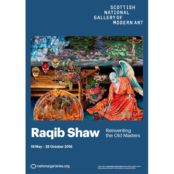 Reinventing the Old Masters Raqib Shaw Exhibition Poster