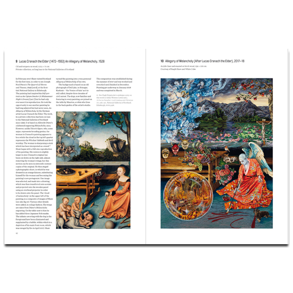 Raqib Shaw: Reinventing the Old Masters exhibition book (paperback)