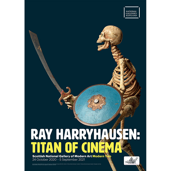 Ray Harryhausen exhibition poster