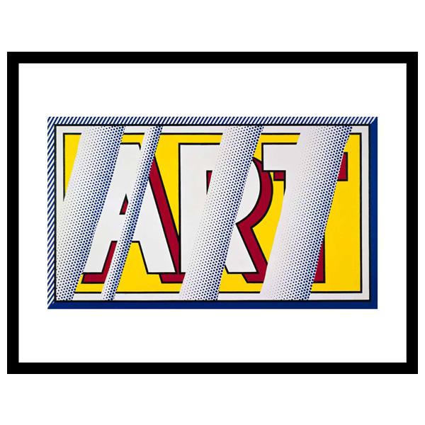 Reflections: Art Roy Lichtenstein Framed Art Print