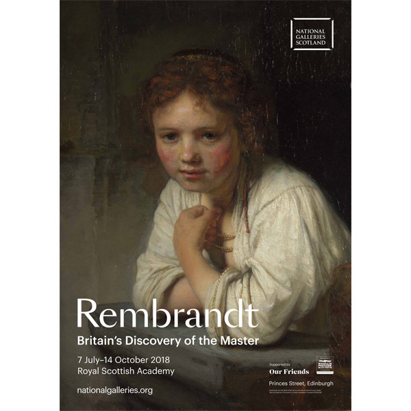Rembrandt: Britain's Discovery of the Master exhibition poster