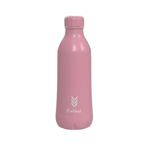 Reusable pastel pink 550ml (19oz) water bottle