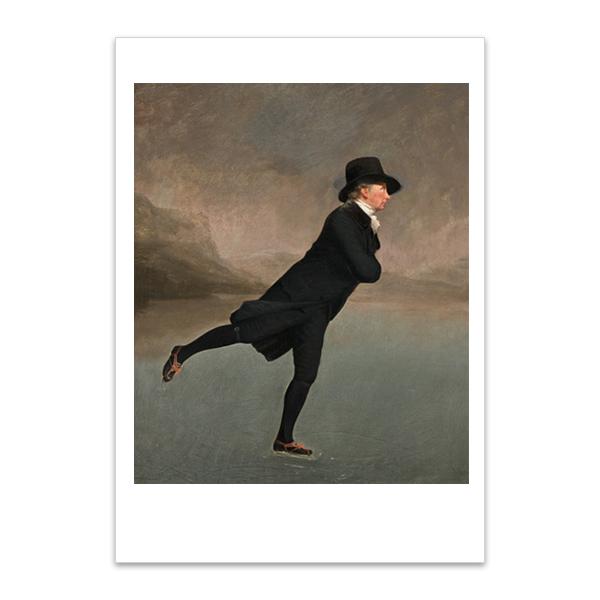Reverend Robert Walker by Sir Henry Raeburn A5 postcard