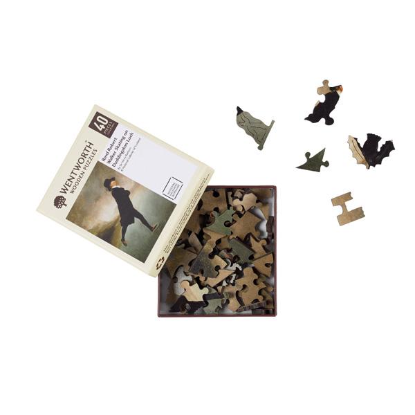 Reverend Robert Walker wooden jigsaw puzzle (40 pieces)