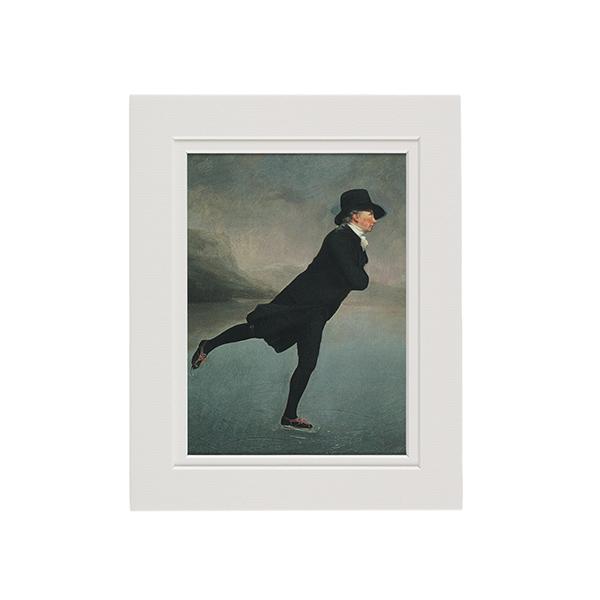 Reverend Walker by Sir Henry Raeburn A5 mounted art print