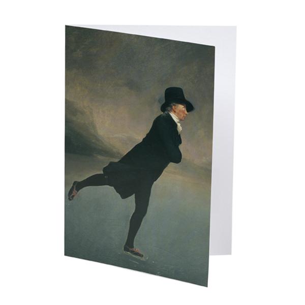 Reverend Walker by Sir Henry Raeburn greeting card