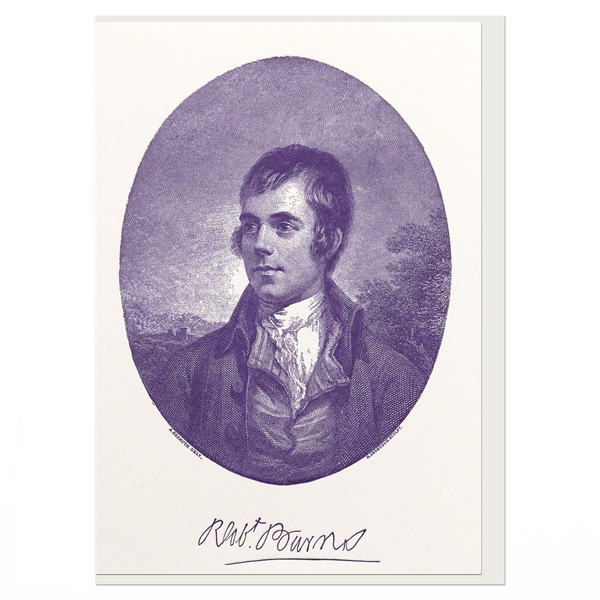 Robert Burns Alexander Nasymth Greeting Card