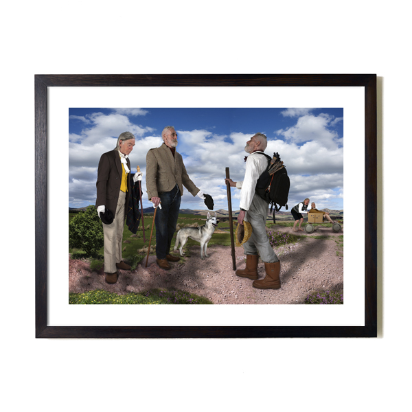 Bonjour Monsieur Byrne Ron O'Donnell Exclusive Limited Edition Print