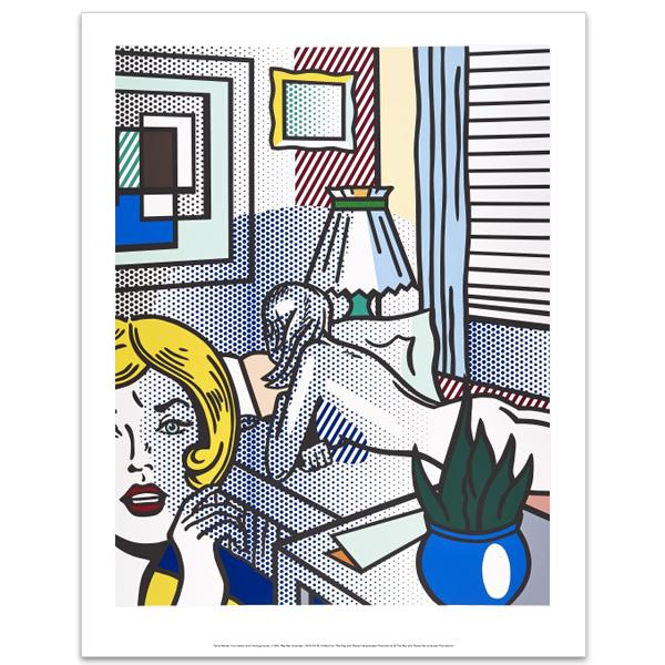 Roommates by Roy Lichtenstein art print