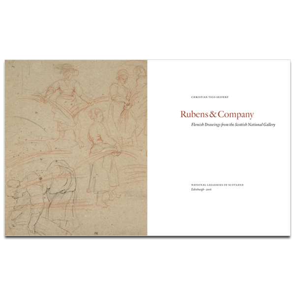 Rubens & Company: Flemish Drawings from the Scottish National Gallery Paperback
