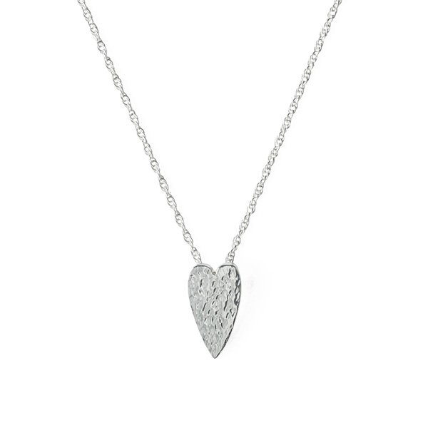 My Love is...silver pendant necklace