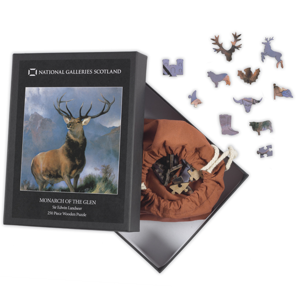Monarch of the Glen wooden jigsaw puzzle (250 pieces)
