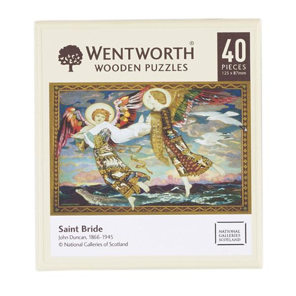 Saint Bride wooden jigsaw puzzle (40 pieces)