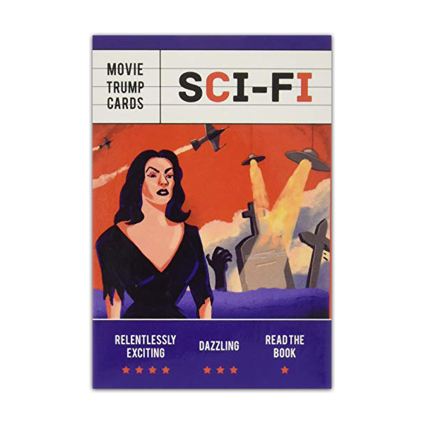 Sci-fi movie trump playing cards