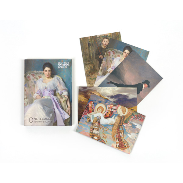 Scottish National Gallery collection highlights notecard wallet (10 cards)
