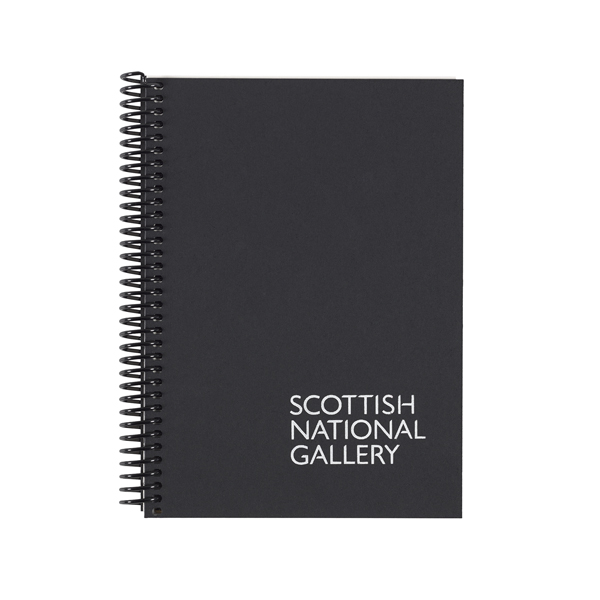 National Galleries of Scotland A5 black coil sketchbook
