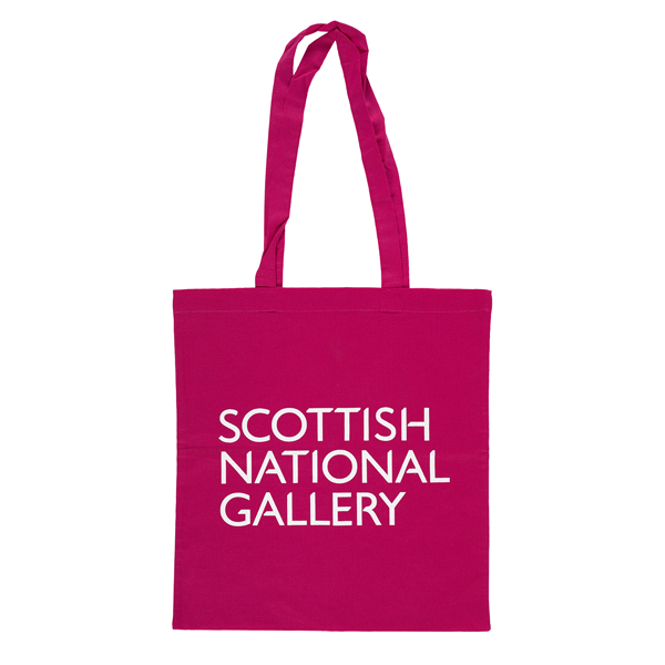 National Galleries of Scotland pink shopper bag