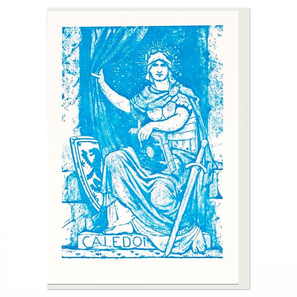 Scottish National Portrait Gallery frieze caledonia greeting card