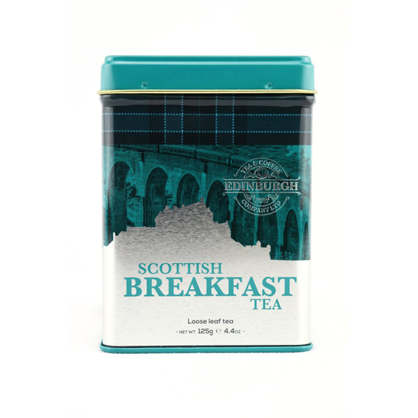 Scottish breakfast tea re-usable caddy