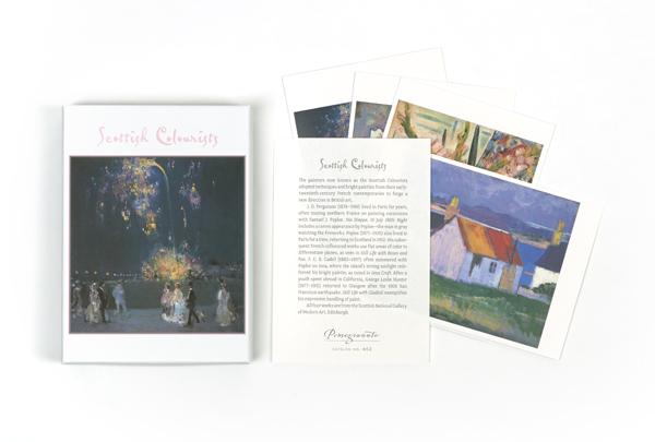 Scottish Colourists Notecard Box (20 cards)