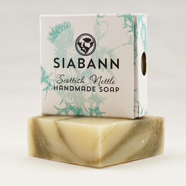 Scottish nettle hand-made soap