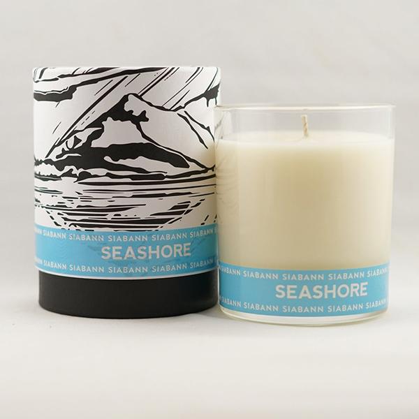 Scottish seashore soy candle