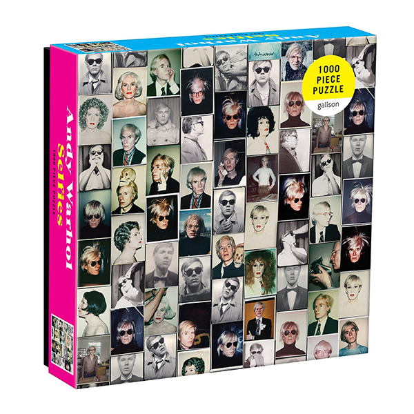Selfies by Andy Warhol jigsaw puzzle (1000 pieces)
