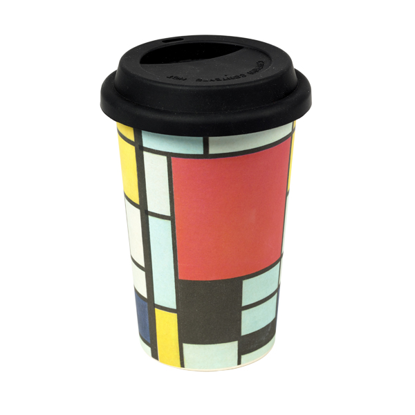 Composition by Piet Mondrian reusable cup