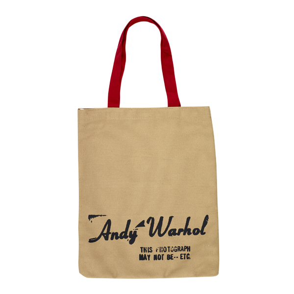 Campbell's Soup Can by Andy Warhol reusable canvas tote bag