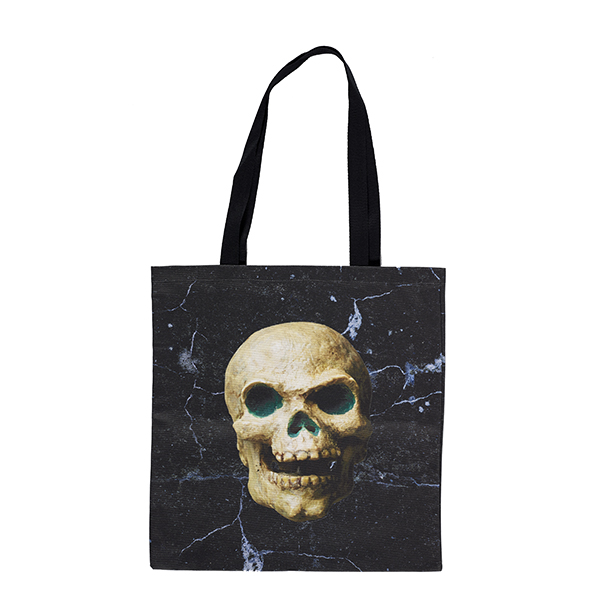 Skull model from Jason and the Argonauts marble tote bag