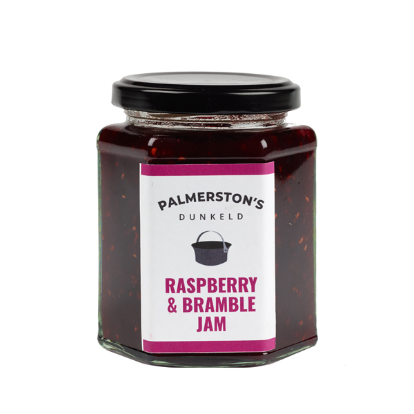 Small batch raspberry and bramble handmade jam